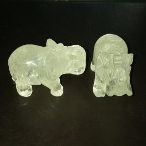 Semi Precious Stone Natural Crystal Buddha Elephant Carving pictures & photos