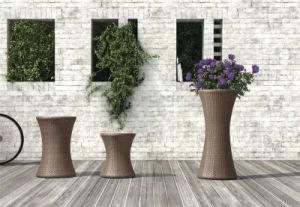 Outdoor Garden Rattan Furniture Wicker Flower Pot