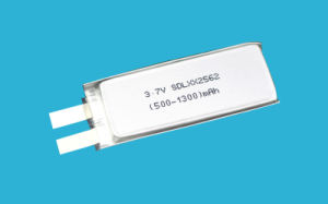 1200mAh 3.7V Lithium Polymer Battery Ce CB pictures & photos