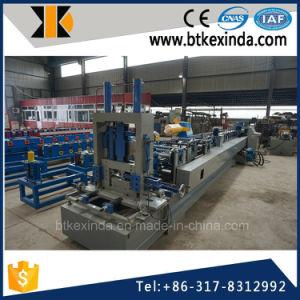 Kxd Automatic Cold Steel Interchangable CZ Purlin Machine pictures & photos
