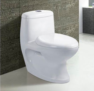 Hot Sale Bathroom Ceramic Washdown One Piece Toilet