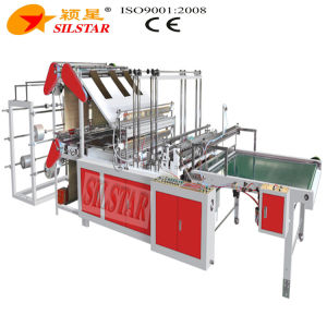 Gbd-900*6 Flat Bottomed & Vest Bag Making Machine pictures & photos