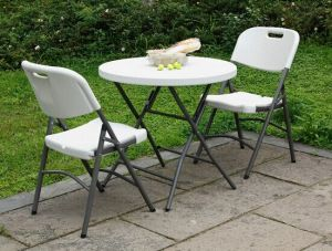 Foldable Furniture Outdoor Plastic Chair Wedding pictures & photos