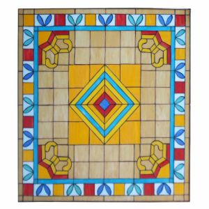 Beautiful Hand Made Church Stained Glass Mosaic Art Deco Window pictures & photos