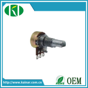 13mm Rotary Potentiometer with Metal Flat Shaft Wh120-1 pictures & photos