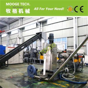 plastic PP PE agricultural film pelletizing line pictures & photos
