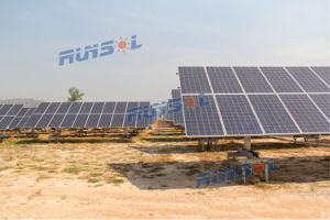 Maximum Power Point Tracking Horizontal Single Aixs Sun Solar Tracker (MPPT) pictures & photos