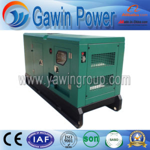 30kw FAW Silent Type Water Cooled Diesel Generator Set pictures & photos