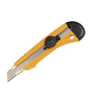 Traditional Design 18mm Snap off Blade Plastic Utility Cutter Knife pictures & photos