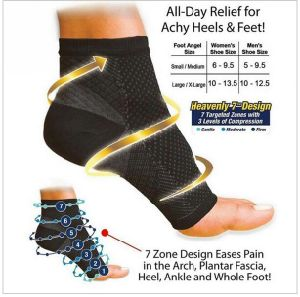 Plantar Fasciitis Socks Foot Care Compression Sock Sleeve with Arch & Ankle Support pictures & photos