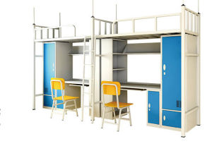 Modern Shool Furniture Steel Metal Bunk Dormitory Bed (HX-JY007) pictures & photos