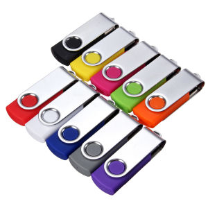 Swivel USB Drive with Tradmark Custommized pictures & photos
