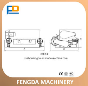 Strongwin Cattle Feed Manufacturing Process Pellet Crumbler Making Machine for Feed pictures & photos
