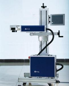 30W Flying Fiber Laser Marking Machine for Production Line pictures & photos