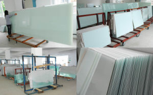 Stationery Wall Mounted Magnetic Glass Whiteboard with Ce, En71 Certification pictures & photos
