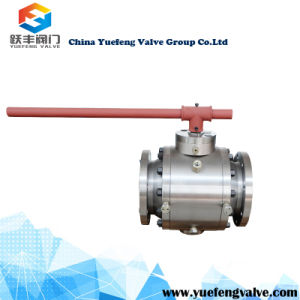 Bare Stem Trunnion Ball Valve pictures & photos