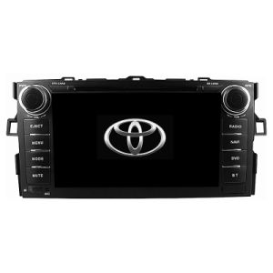 2012 Car Multimedia Radio Stereo for Toyota Corolla 2012 with DVD 3G TV iPod RDS