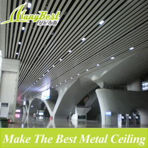 Artistic Fireproof Linear Metal Ceiling for Roof Decoration pictures & photos
