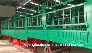 L: 13 Meters H; 1.9 Meters Super Light Van Type Container Semi Trailer pictures & photos