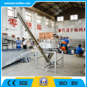 Direct Manufacturer Inclined Flexible Hopper Spiral Screw Conveyor pictures & photos