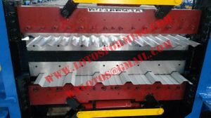 Heavy Duty Double Layer Roll Forming Machine with Sliding Column Pressing pictures & photos
