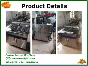 High Quality Commercial Kitchen Equipment Stainless Steel Standing Electric Fryer pictures & photos