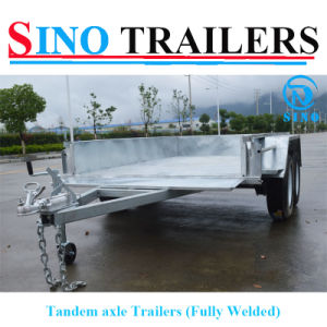 New Design Heavy Duty Fully Welded Tandem Box Trailer