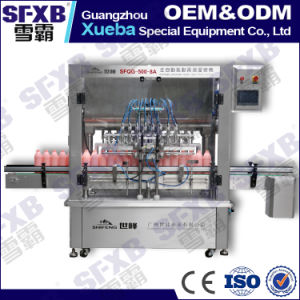 Sfqg-500-8 Pneumatic Driven Automatic Paste Filling Machine pictures & photos