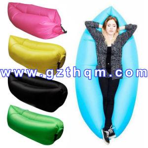 3 Seasons Type Inflatable Sleeping Bag/Inflatable Air Sleeping Sofa Bag pictures & photos