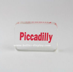 Custom Clear Acrylic Block Professional Manufacturers pictures & photos