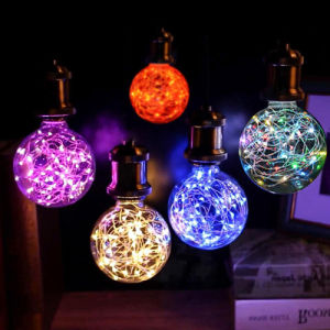 Factory Direct Pricing 110V 220V 1.5W Colorful LED Light Bulb pictures & photos