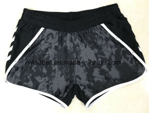 Wholesale Sports Shorts for Women with Print pictures & photos