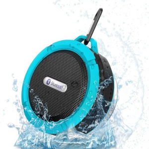 with Snap Hook Suction Cup Waterproof Outdoor C6 Bluetooth Speaker pictures & photos