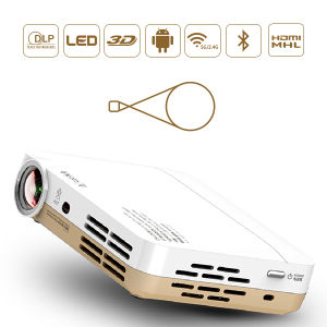 Hottest Mini LED Projector Cx3 Max for Home and Personal Entertainment with Active Shutter 3D