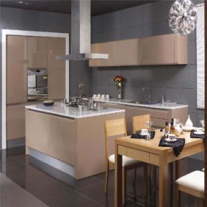 New Models Solid Oak Wood Kitchen Cabinet pictures & photos