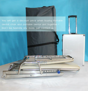 Portable Dental Chair with Travelling Wheels Hr-Ml09 pictures & photos