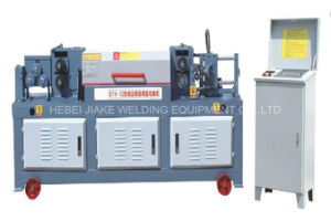 CNC Automatic Rebar Wire Straightener Cutter Machine pictures & photos