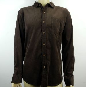 Men′s Corduroy Fabric Casual Shirts with Stocklot and MOQ 1PC pictures & photos