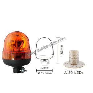 ECE R65 R10 12/24V Flexible Low Mount Warning Light LED Beacon (SM809CA)