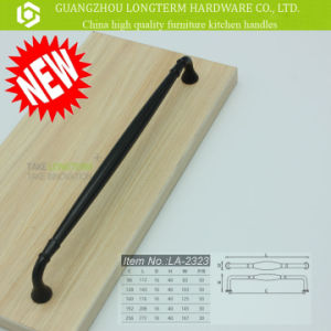 Newest Nice Touch Mat Black Long Handle for Cabinet Kitchen pictures & photos