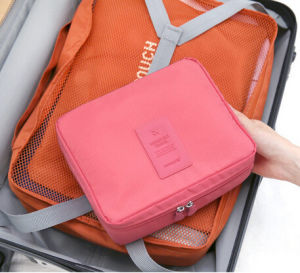 Waterproof Organizer Multifunctional Portable Cosmetic Bags (54028) pictures & photos
