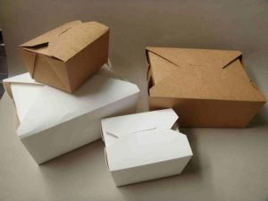 Craft Paper Cardboard Food Packing Boxes with Custom Printing pictures & photos