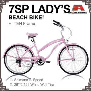 26 Inch 7 Speed City Beach Cruiser Bike (ARS-2611S) pictures & photos