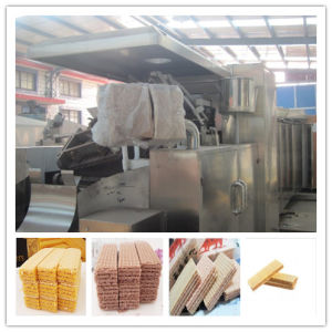Gas Oven Wafer Biscuit Machine pictures & photos