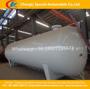 Asme 25cbm LPG Storage Tank 20FT LPG Bobtail Container Tank pictures & photos
