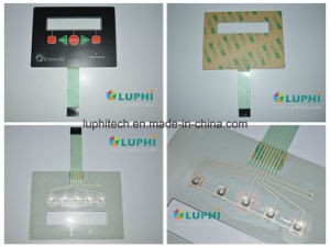 LED Backlighting Metal Domes Membrane Switch (MIC-0093) pictures & photos