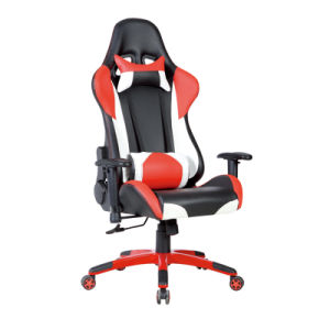 Modern Executive Leather Swivel Adjustable Office Racing Sport Chair (FS-RC003) pictures & photos
