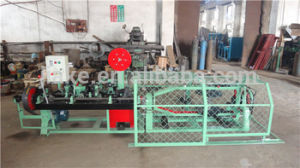 Single or Double Twisted Barbed Iron Wire Machine (three types) pictures & photos