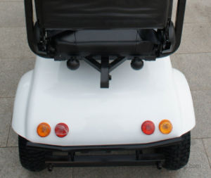 Four Wheel Electric Mobility Scooter with Double Seat pictures & photos