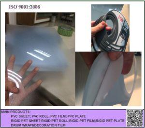 Clear Matt PVC Transparen Rigid Sheet, Transparent Frosted Rigid PVC Sheet for Folding pictures & photos